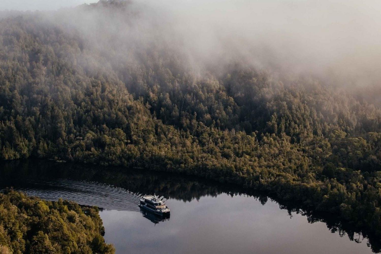 Hobart: Scenic Flight, Gordon River Cruise, & Buffet Lunch