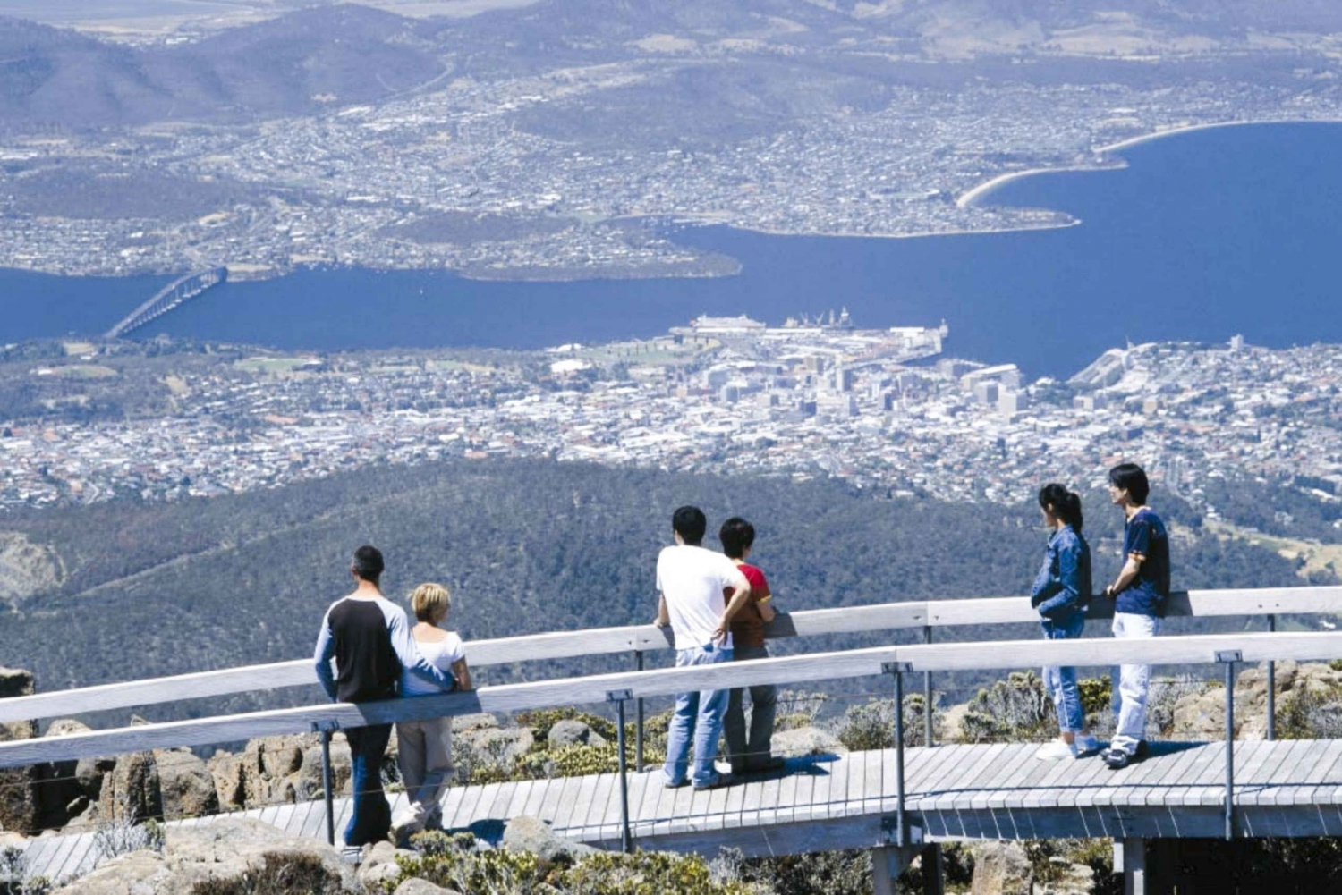 Mount Wellington Tour with MONA Ticket & Ferry Return