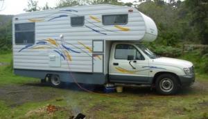 Paradise Motorhome Hire Northwest Tasmania
