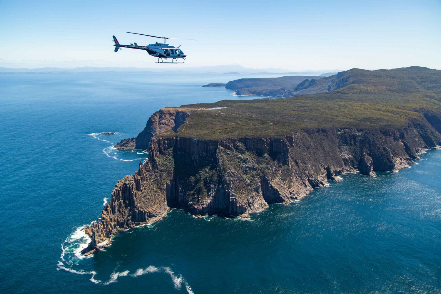 Port Arthur: Two Capes & Tasman Scenic Helicopter Flight