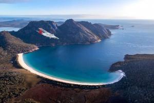Wineglass Bay and Maria Island Scenic Flight Experience