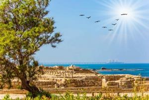 From Caesarea, Haifa, Acre and Rosh Hanikra Tour