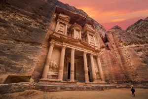 From Full-Day Trip to Petra with Roundtrip Flights