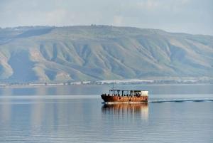 From Jerusalem/ Galilee & Jordan River Private Tour