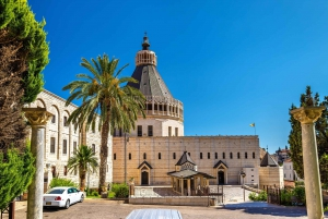 From Jerusalem/Tel Aviv: Galilee & Jordan River Private Tour