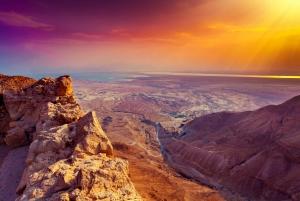 From Masada Sunrise, Ein Gedi and Dead Sea Tour