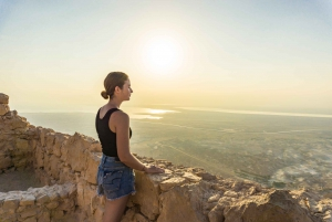 From Masada Sunrise, Ein Gedi & Dead Sea Hike