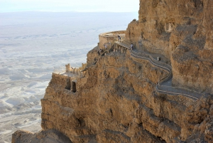 From Masada & the Dead Sea Small Group Day Trip