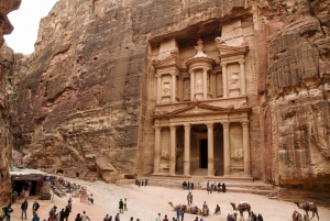 From Petra 1-Day Guided Tour with Transfers
