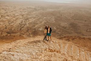 From Tel Aviv: Masada Sunrise, Ein Gedi & Dead Sea Hike