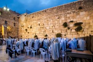 Jerusalem: Half-Day Tour from Netanya, Herzliya and Tel Aviv