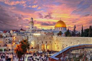 Jerusalem Old and New City Tour from Tel Aviv/Netanya/Herz