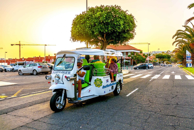 Costa Adeje: Tuk Tuk and Walking Tour