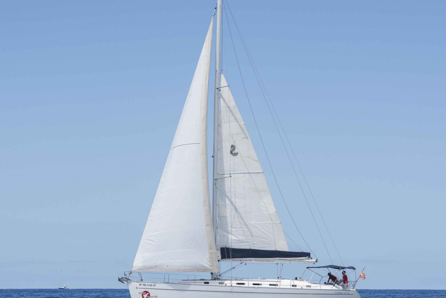Exclusive 3-Hour Charter Sailboat or Yacht in Tenerife
