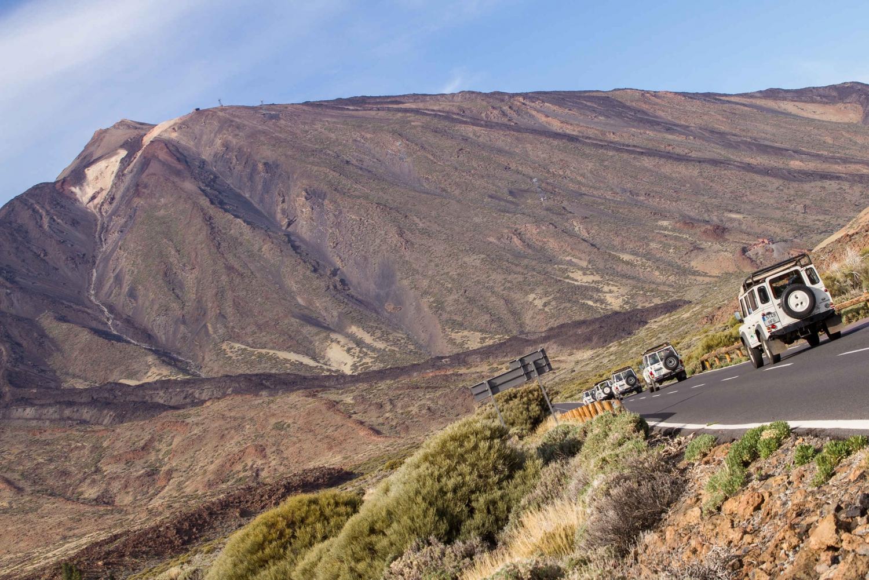 From Playa de las América: Half-Day Jeep Safari Tour