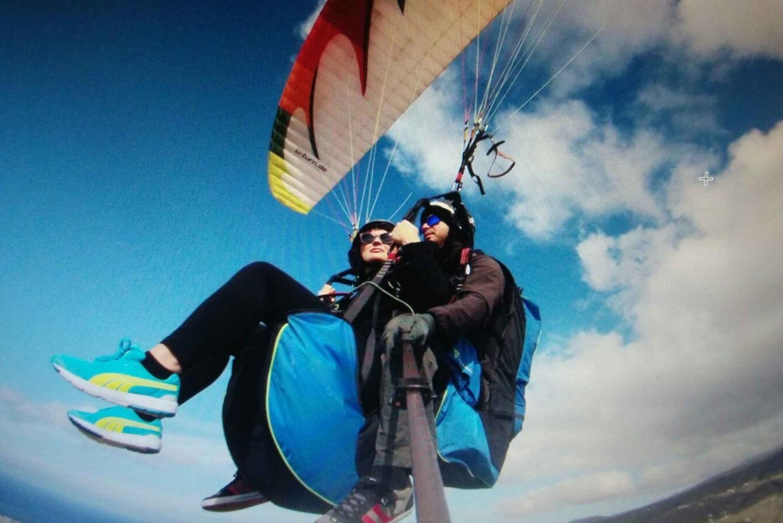 From South Tandem Paraglide Flight