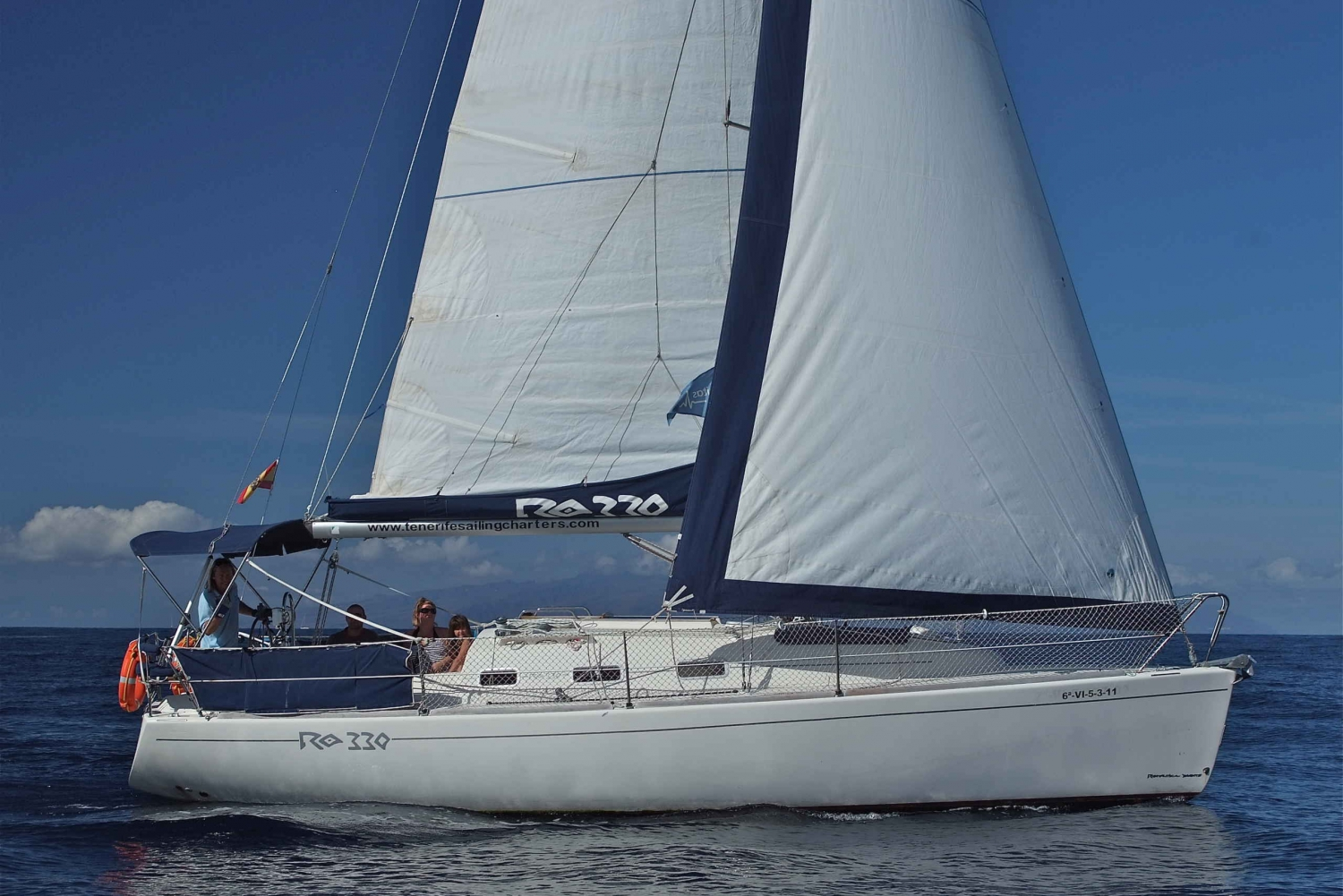 Full-Day Private Sailing and Marine Life Charter in Tenerife