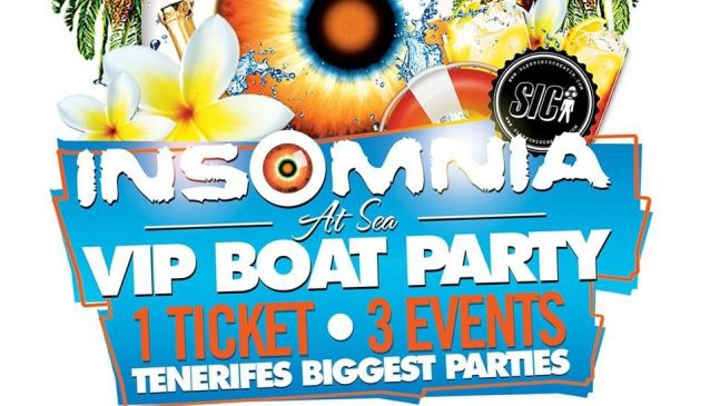 Insomnia at Sea - VIP Boat Party