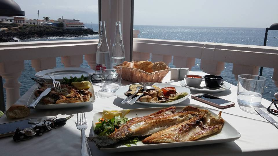 Masia Del Mar Seafood Restaurant In La Caleta Tenerife