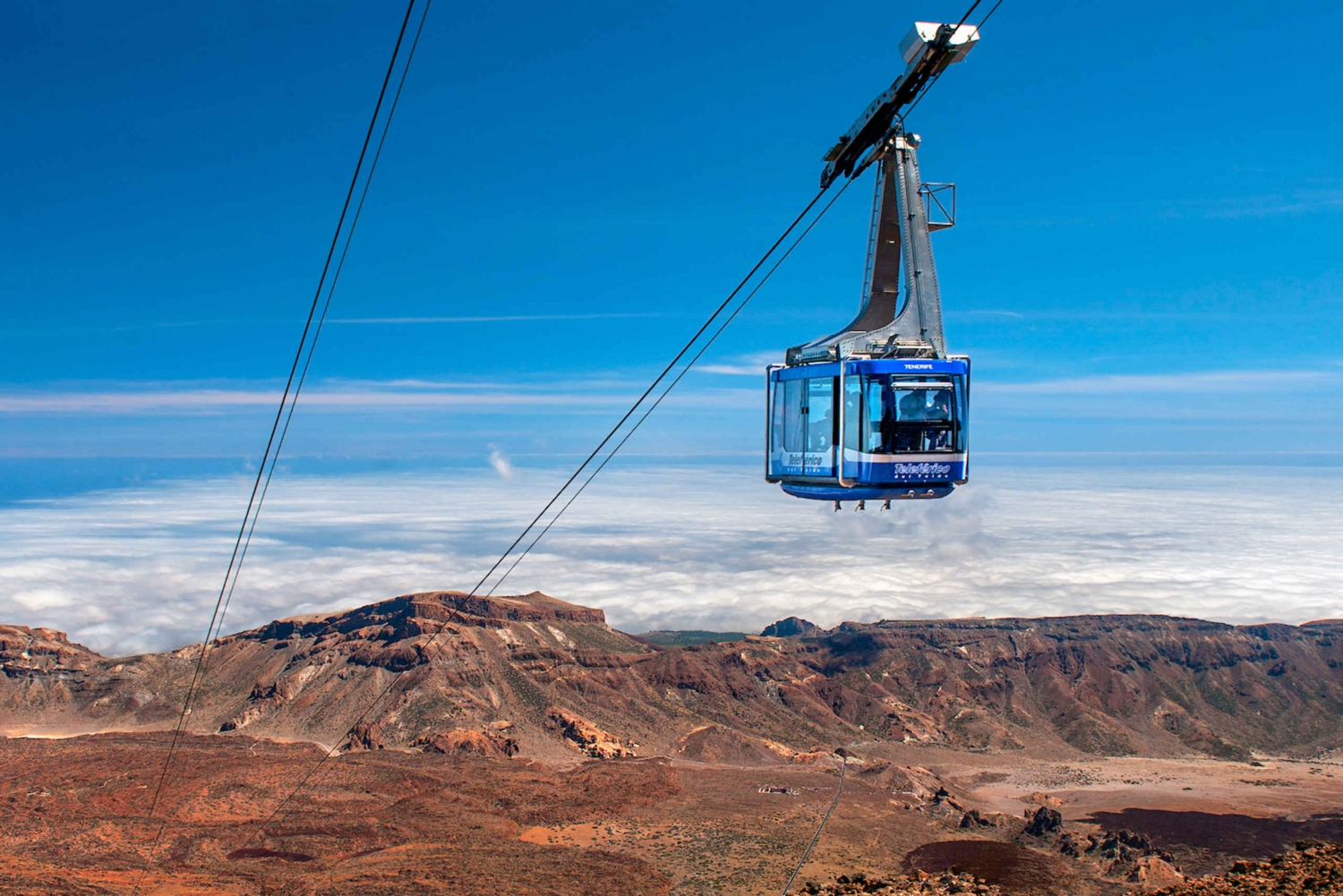 Mount Teide Cable Car Fast Track Ticket