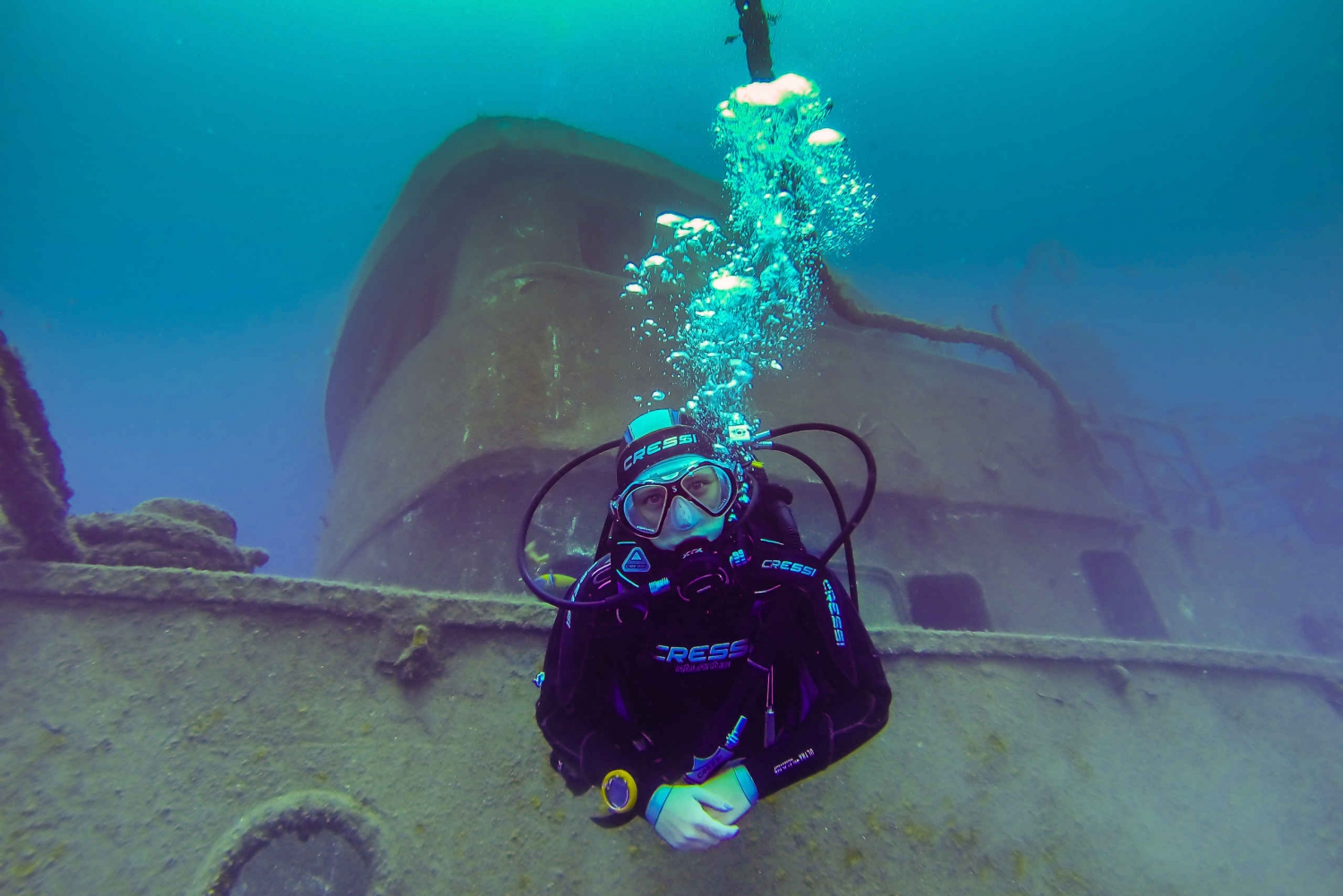 Two Dives in Tenerife