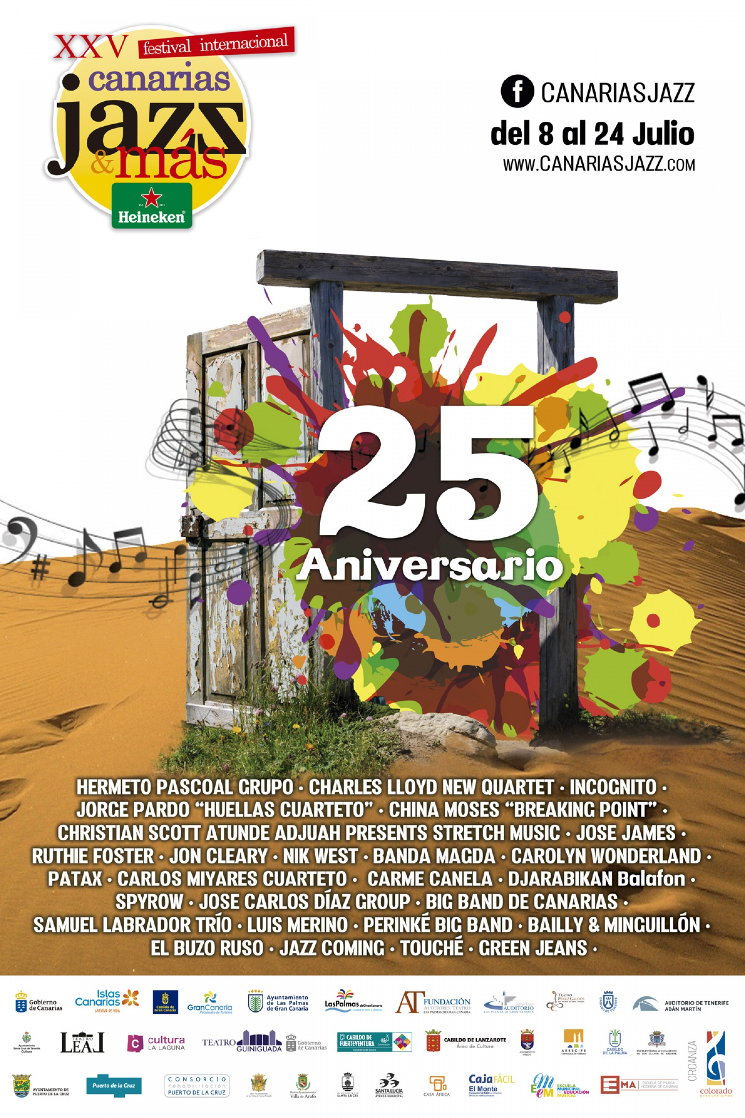 25th International Festival 'Canarias Jazz & Más Heineken'