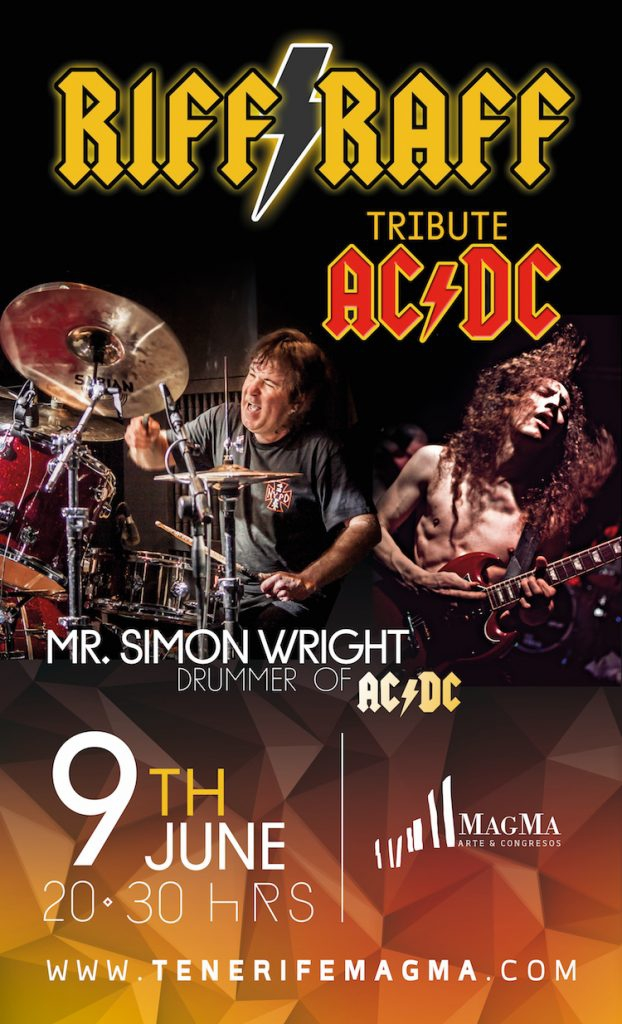 AC/DC Tribute band with original AC/DC drummer