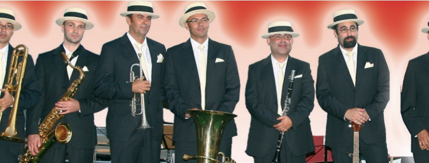 Alabama Dixieland Concert in Santa Cruz