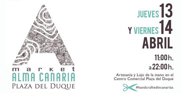 Alma Canaria market en Plaza del Duque