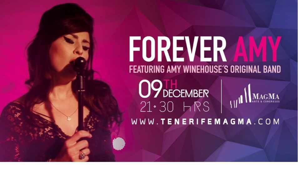 Forever Amy -Amy Winehouse Tribute With Original Band Members Comes to Tenerife