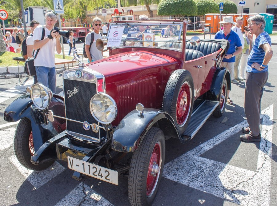 Antique Car Exhibition Los Cristianos Carnaval