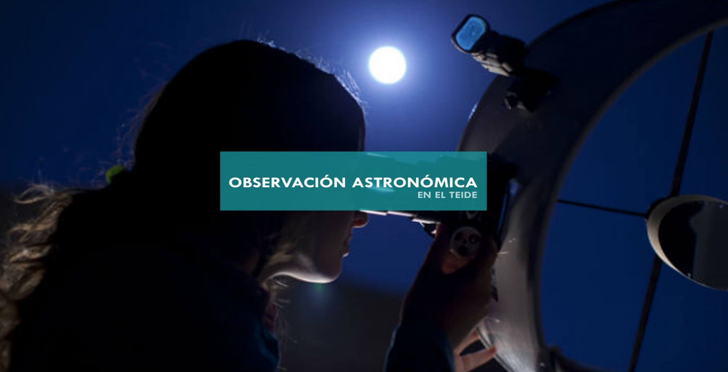 Astronomical observation in El Teide