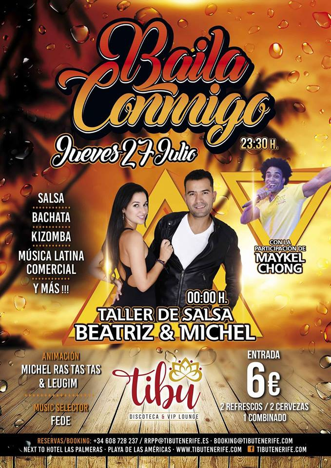 Baila Conmigo Latino Music Night