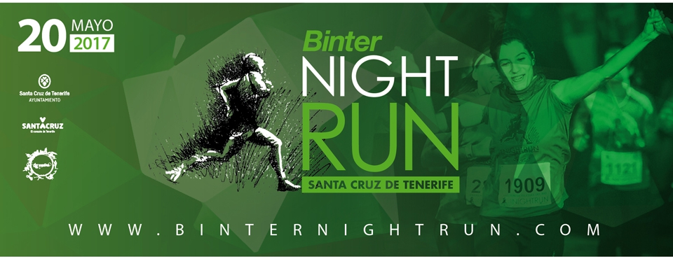 Binter Night Run in Santa Cruz