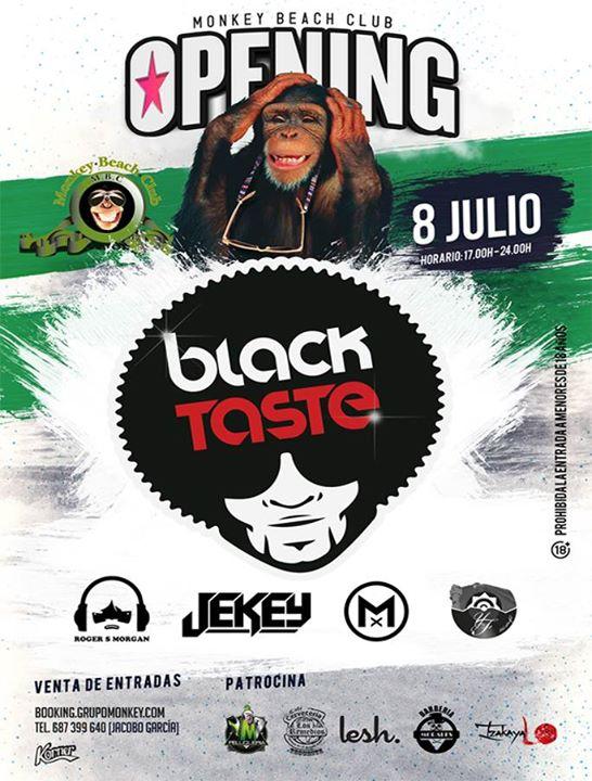 Black Taste Opening'2017