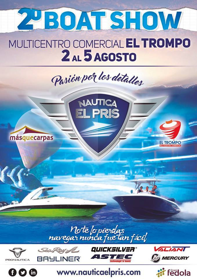 Boat Show at the Trompo Shopping Centre