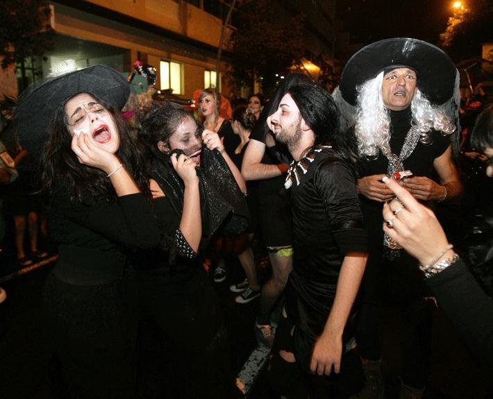 Burial of the Sardine Carnaval 2017