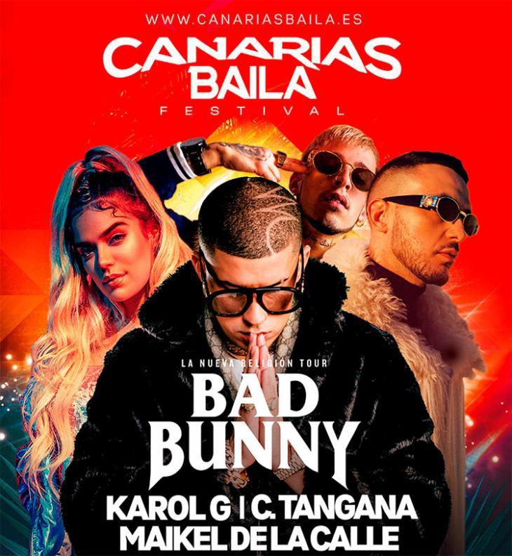 Canarias Baila Festival - Bad Bunny