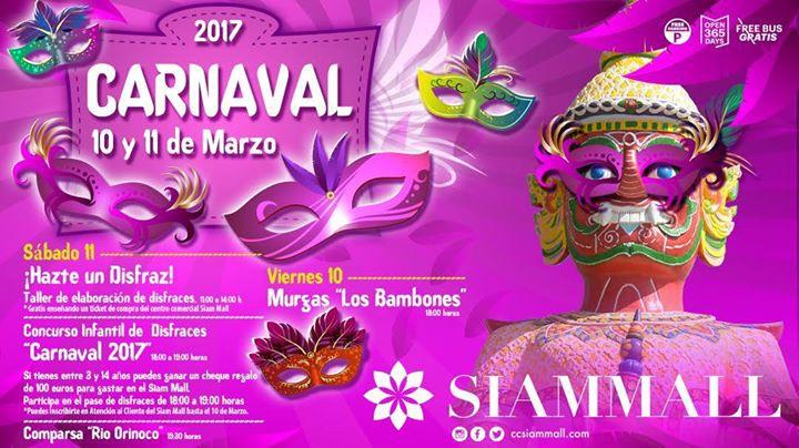 Carnavales en Siam Mall