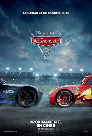 Cars 3 in English at GranSur Cinema
