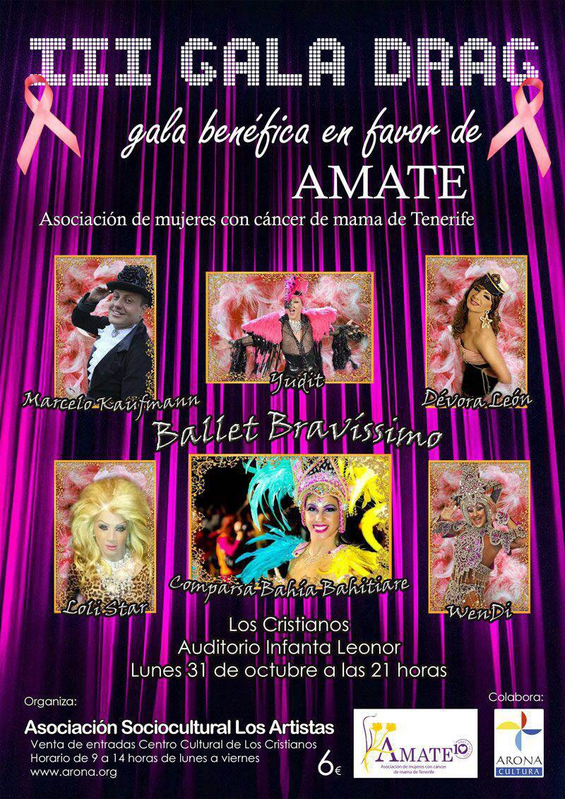 Charity Drag Gala For Breast Cancer