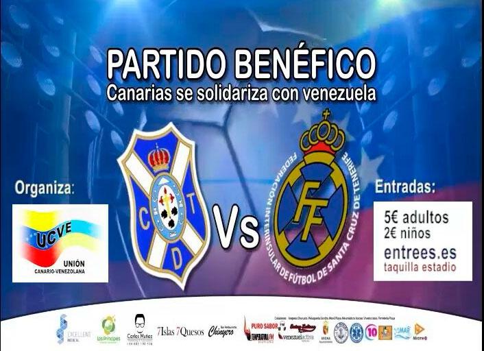 Charity Football Match at Las Americas Stadium