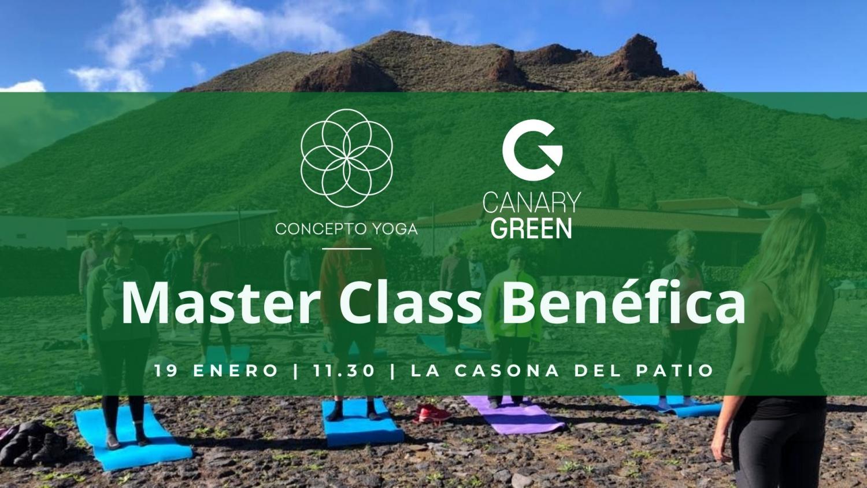 Charity Yoga Master Class