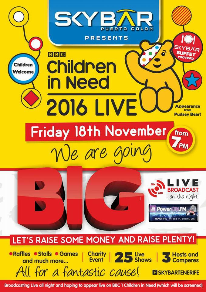 Children in Need at SkyBar