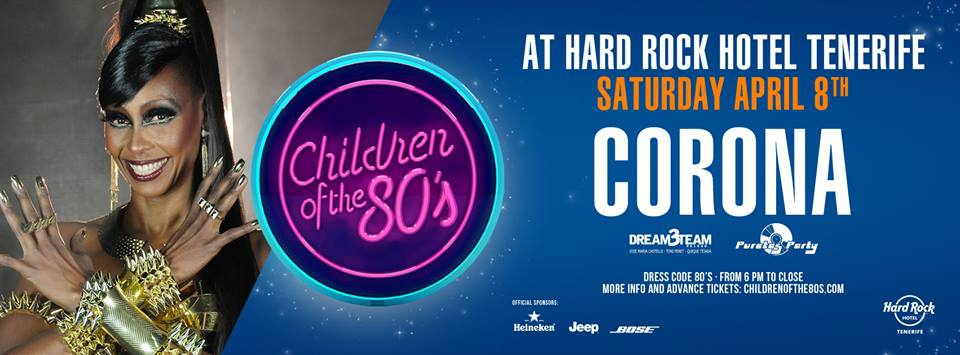 Children of the 80's Night featuring Corona at Hard Rock Hotel