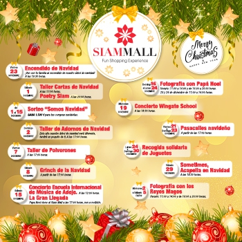 Siam Mall Christmas Events