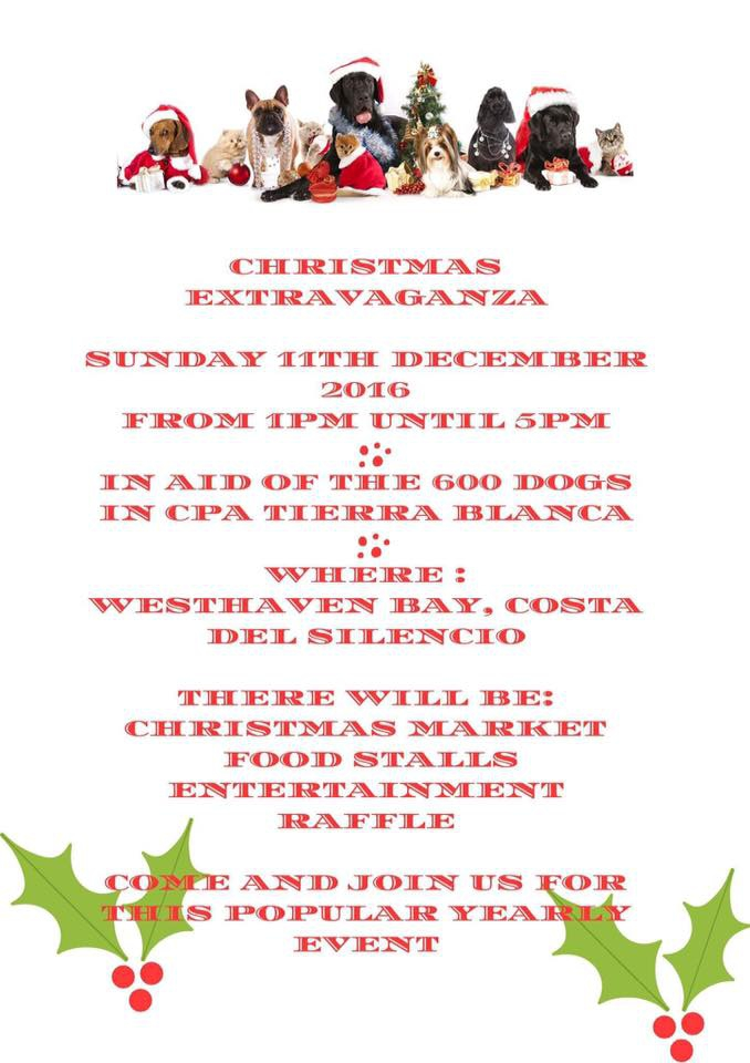 Christmas Extravaganza for Tierra Blanca Animal Shelter