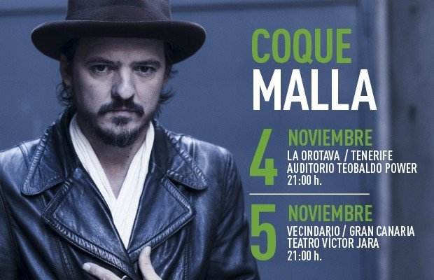 Coque Malla Concert
