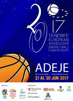 European Wheelchair Basketball Championships Tenerife