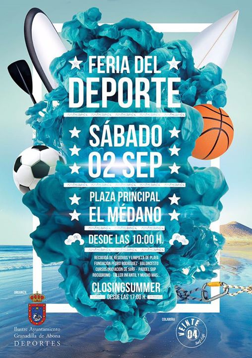 Feria del Deporte y ClosingSummer 'Dorada Boncho Tour'